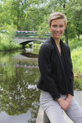 Elina Sundström, författare Hälsohets. Foto: Anicia Sundström.