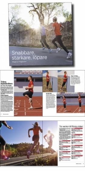 Starkare snabbare löpare