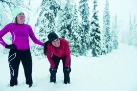 Vinterlöpning från boken Starkare, snabbare, löpare. Foto www.hansberggren.se