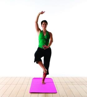 Dans-yoga. Foto Mikael Gustavsen.